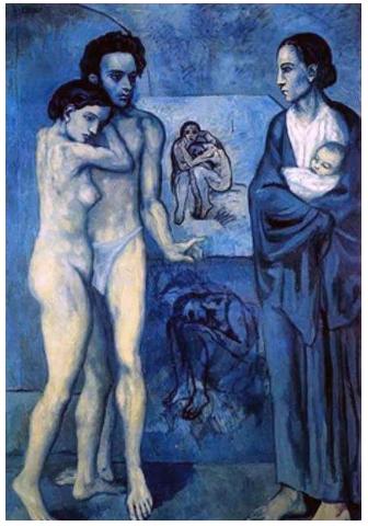 毕加索的蓝色时期